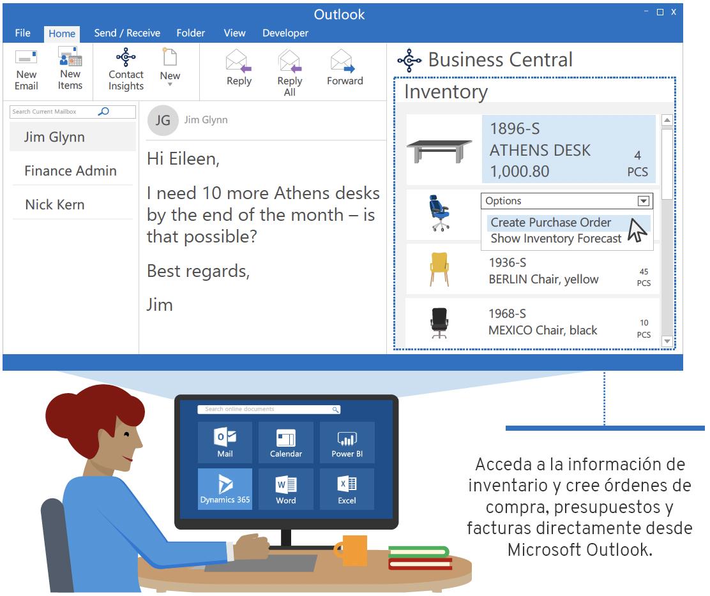 Dynamics 365 y Office 365: Reinventando la productividad empresarial